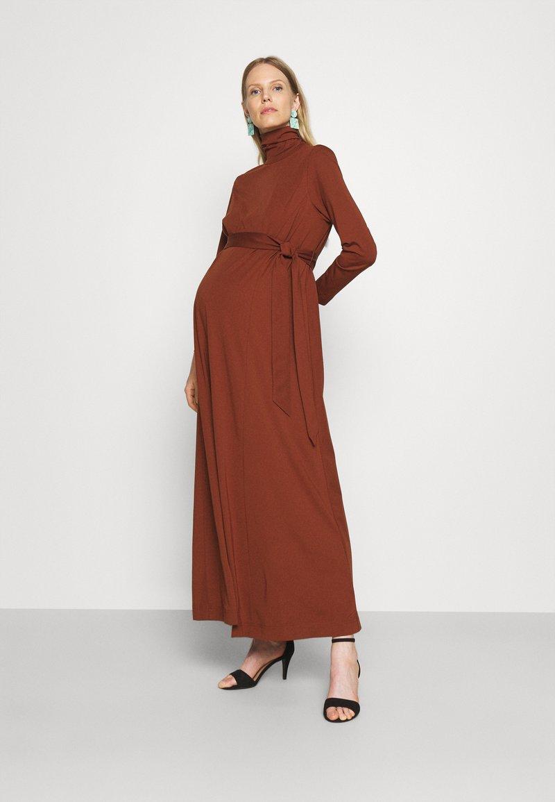 IVY & OAK Maternity - DORIS - Maxi dress - marsalla