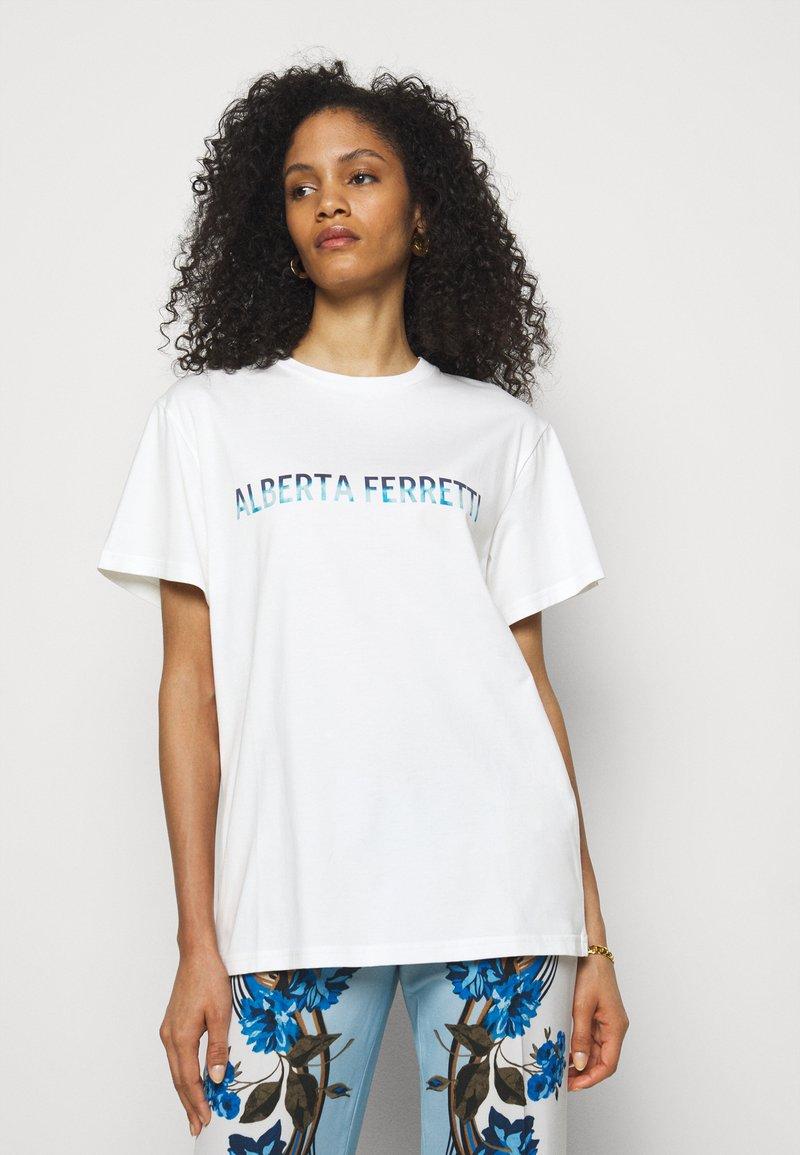 Alberta Ferretti - Print T-shirt - white
