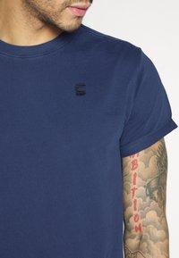 G-Star - LASH  - Basic T-shirt - sartho blue - 5