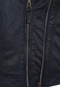 7eleven - IN TRENDIGEM LOOK - Leather jacket - navy - 3