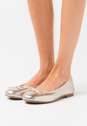 Ballet pumps - light gold