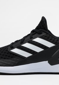 adidas Performance - RAPIDA ACTIVE CLOUDFOAM RUNNING SHOES - Neutral running shoes - core black/footwear white - 5
