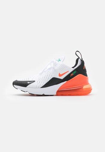 AIR MAX 270 - Sneakers basse - white/turf orange/stadium green/black