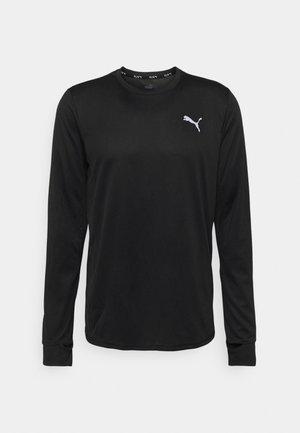 RUN FAVORITE TEE - Long sleeved top - black