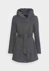 ONLY - ONLCANE COAT - Mantel - dark grey melange - 3