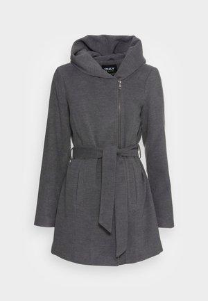 ONLCANE COAT - Klassisk kåpe / frakk - dark grey melange