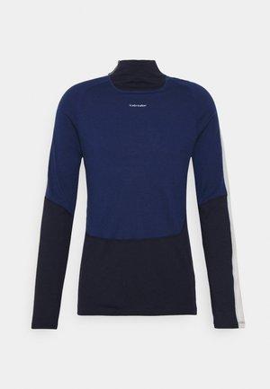 SONEBULA HIGH NECK - Långärmad tröja - mid navy/royal navy/snow