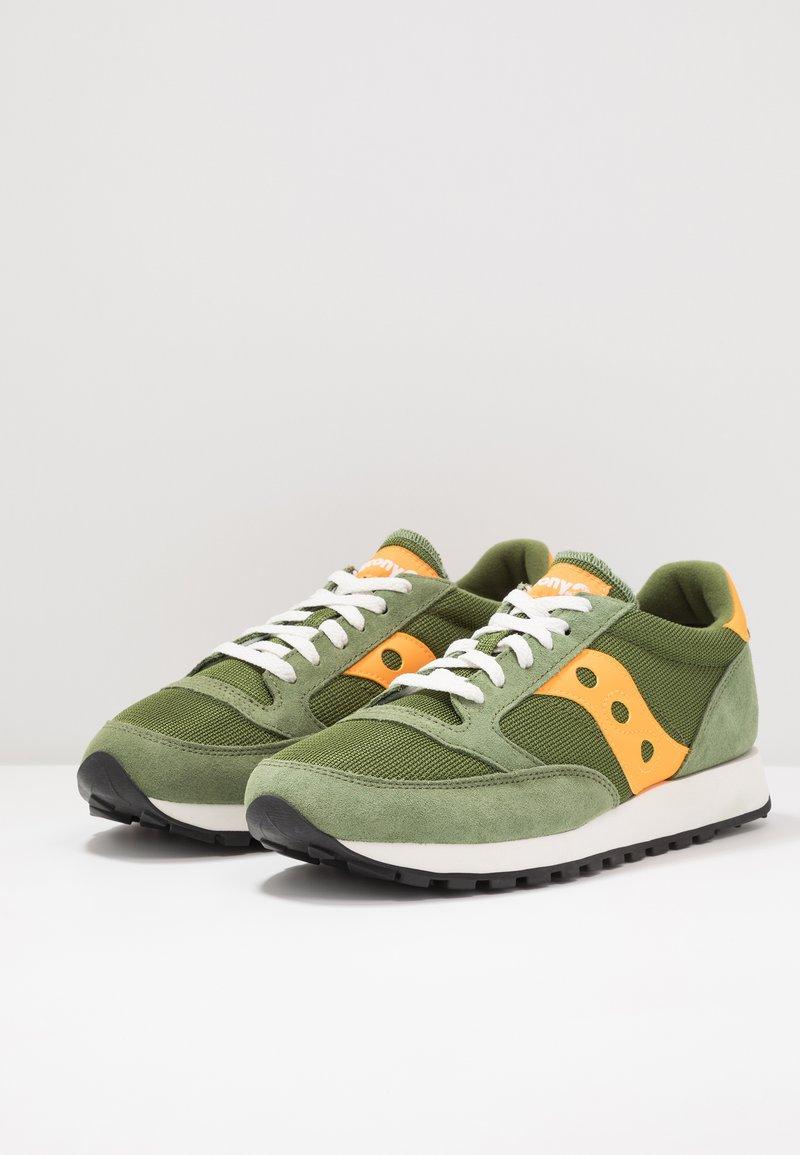 Saucony - JAZZ VINTAGE - Sneaker low - green/mustard