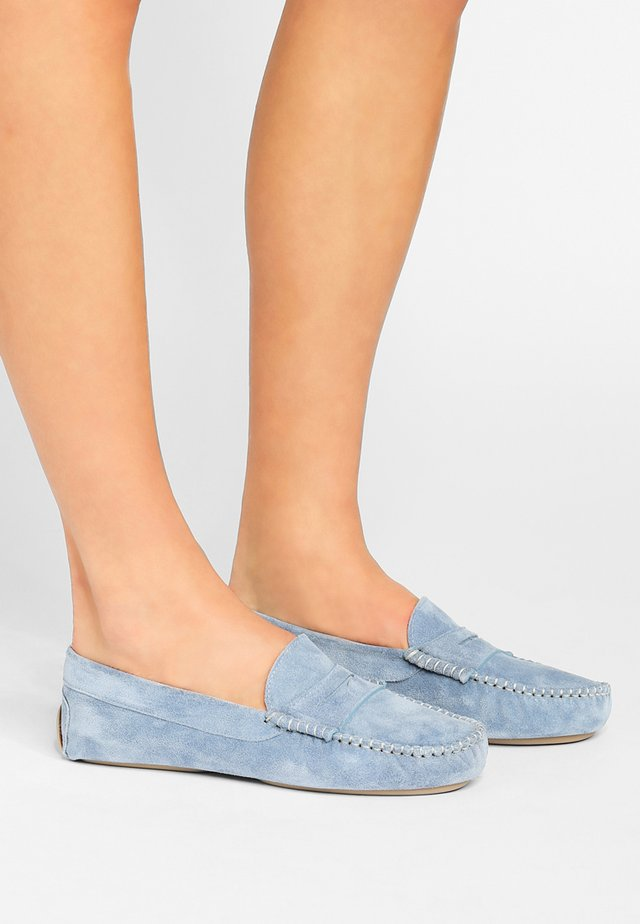 Mocassini - crosta jeans