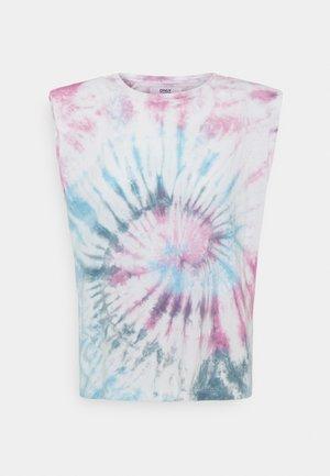 ONLPERNILLE TIE DYE  - Print T-shirt - kalamata