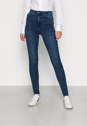 VMSOPHIA SOFT - Jeans Skinny Fit - dark blue denim