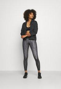 Nike Performance - Sports jacket - black/silver - 1
