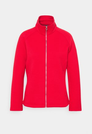 SADIYA - Fleece jacket - true red