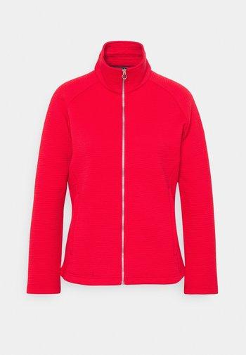 SADIYA - Fleece jacket - true red