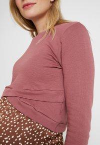 Glamorous Bloom - CROPPED - Sweatshirt - violet pink - 4