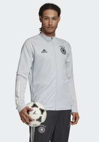 adidas Performance - DEUTSCHLAND DFB TRAINING JACKE - Article de supporter - clear grey - 2
