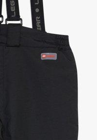 LEGO Wear - LWPOWAI  - Spodnie narciarskie - black - 5