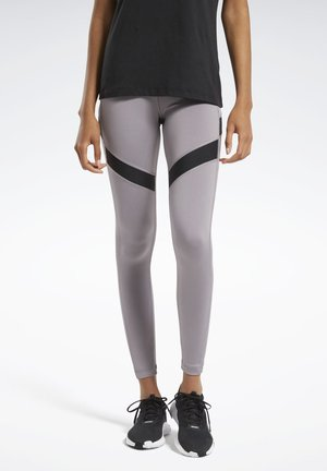 WORKOUT READY MESH LEGGINGS - Leggings - grey