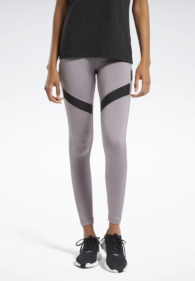 WORKOUT READY MESH LEGGINGS - Collants - grey