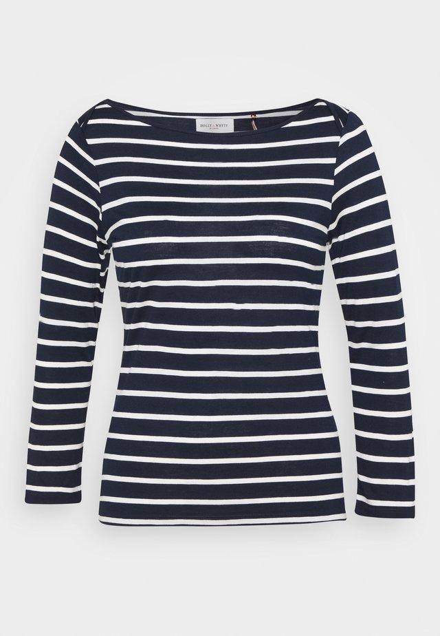 TOP MEA - Camiseta de manga larga - navy