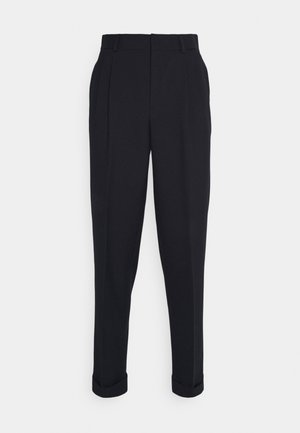 CROISE NAVY - Suit trousers - marine