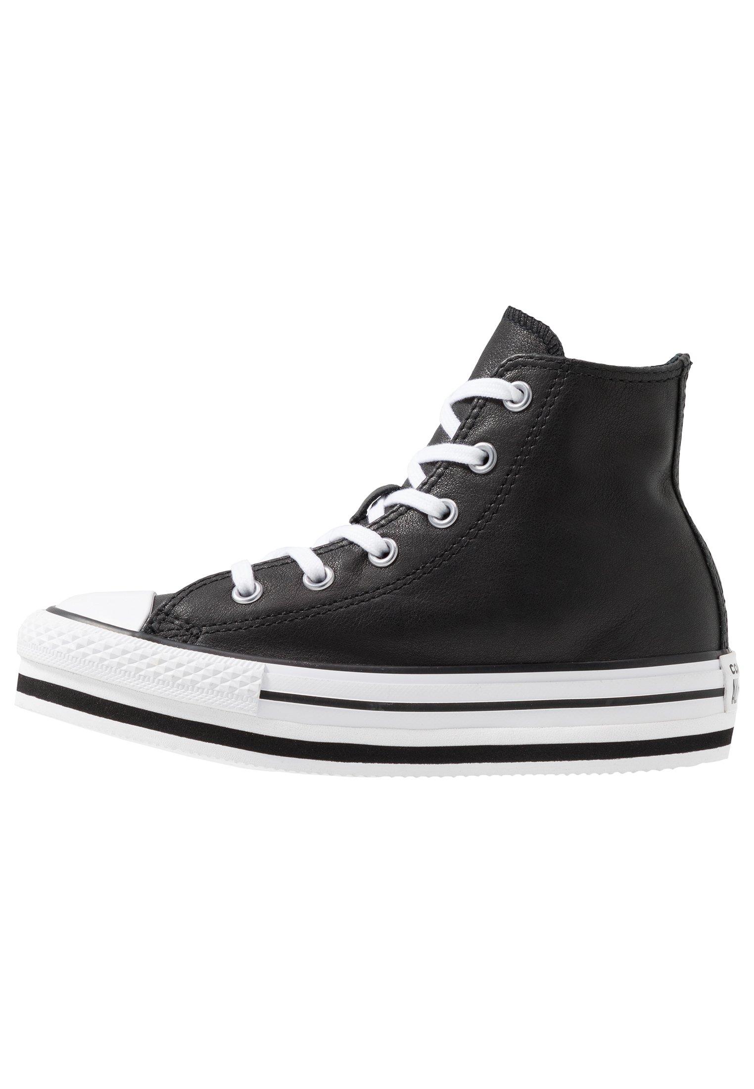CHUCK TAYLOR ALL STAR PLATFORM - Sneakers alte - black/white