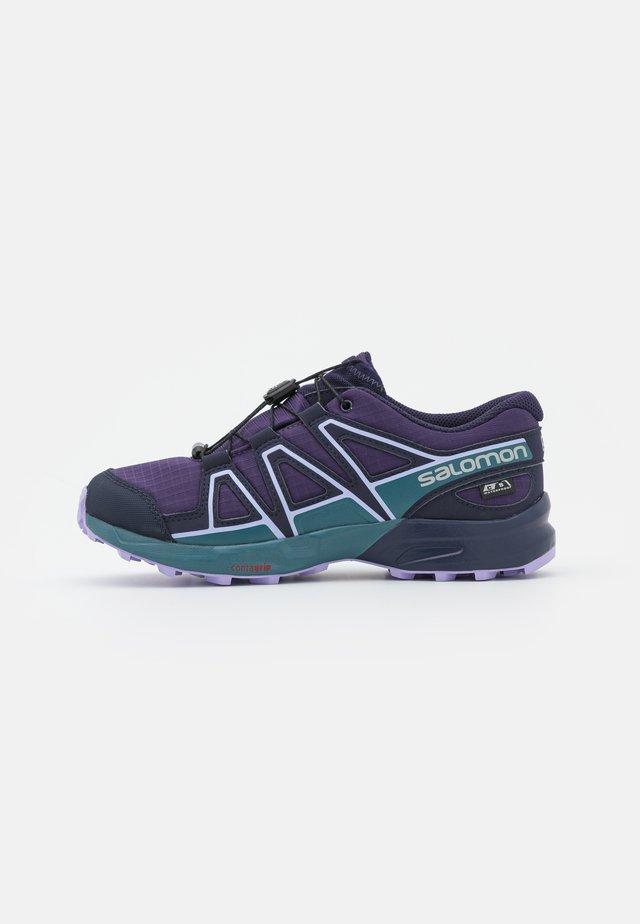 SPEEDCROSS CSWP UNISEX - Hiking shoes - grape/mallard blue/lavender