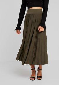 Anna Field Petite - A-line skirt - olive night - 0