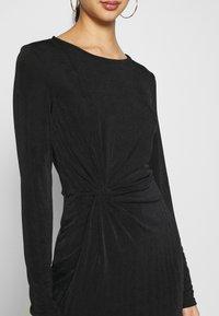 Vero Moda - VMAMIRA DRESS - Day dress - black - 5