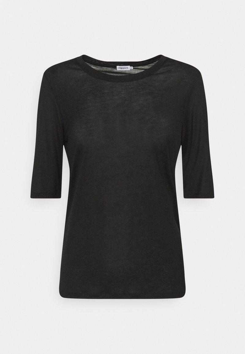 Filippa K - ELENA TEE - Jednoduché triko - black
