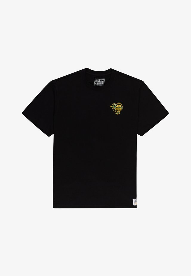 ANTIDOTE STATE  - T-shirts print - flint black
