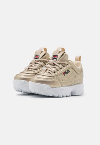 Fila - DISRUPTOR INFANTS - Sneakers laag - gold - 1