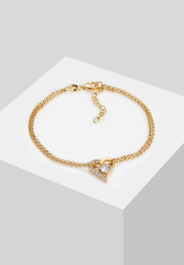 HERZ LIEBE  - Armband - gold-coloured