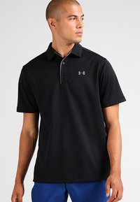 Under Armour - TECH  - Sports shirt - black/graphite - 0