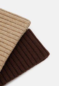 Zign - 2 PACK UNISEX - Pipo - brown/camel - 2