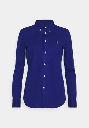 HEIDI LONG SLEEVE - Button-down blouse - sporting royal