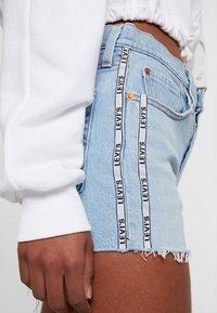 Levi's® - 501® HIGH RISE SHORT - Denim shorts - dibs tape - 5