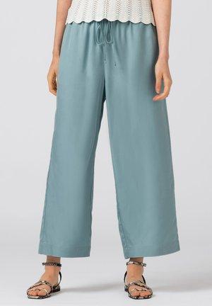 Trousers - aqua