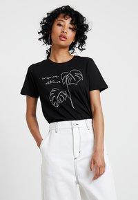 TWINTIP - T-shirts print - black - 0