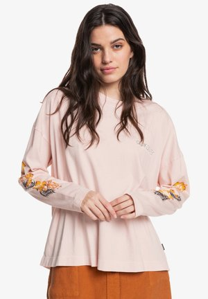 Long sleeved top - creole pink