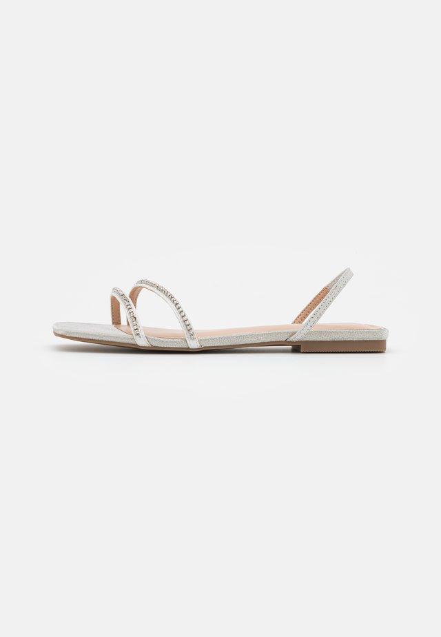 AMARAH - Sandals - silver