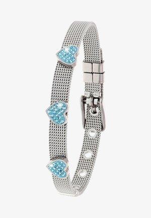 Bracelet - zilverkleurig/aqua