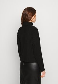 New Look - WIDE BRUSHED  - Jersey de punto - black - 2