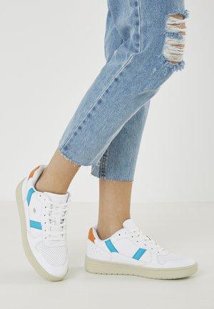 RAWW - Sneakersy niskie - white/blue/orange