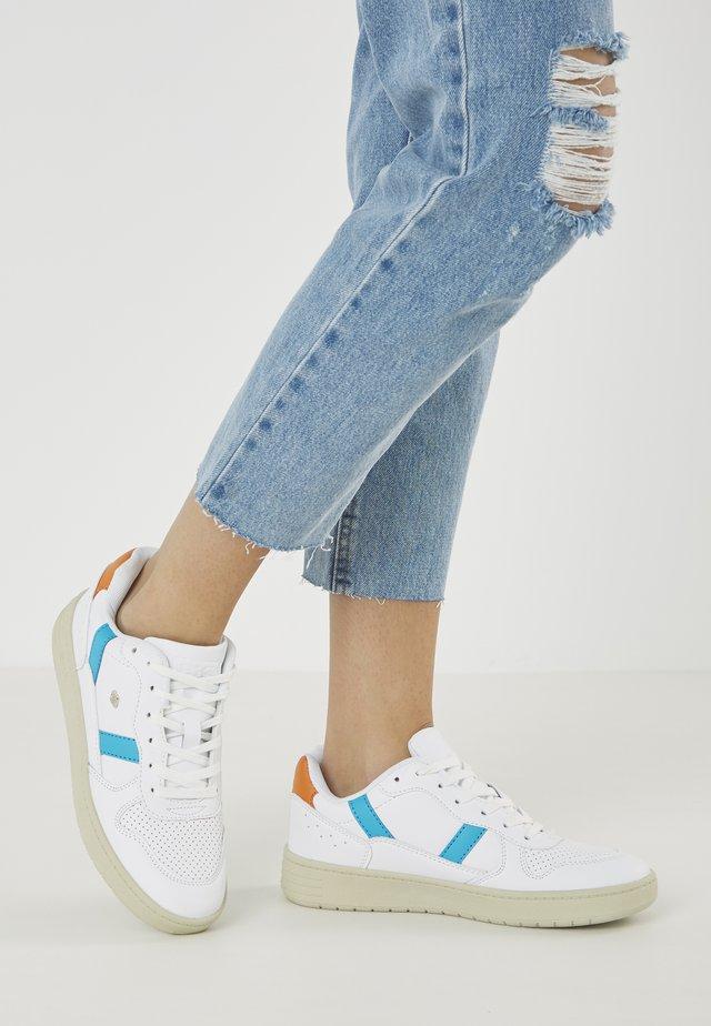 RAWW - Baskets basses - white/blue/orange