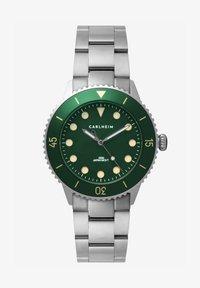 Carlheim - DIVER 40MM LINK - Montre - silver-green - 0