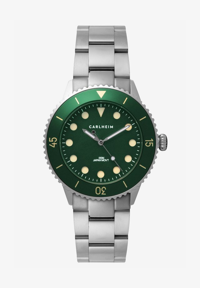 DIVER 40MM LINK - Ure - silver-green