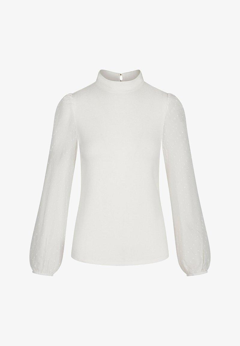 ORSAY MIT HALBROLLKRAGEN - Bluse - wolkengrau/beige ULUR93