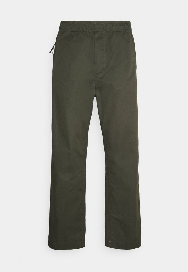 STANLEY TROUSERS - Pantaloni - dark army