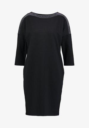 WILLIS GLITTER - Jersey dress - black